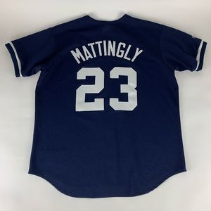 Don Mattingly New York Yankees MLB Majestic Jersey